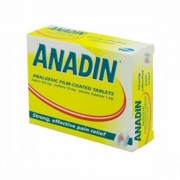 ANADIN ANALGESIC FC 24 TABS
