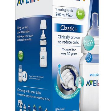 AVENT ANTI COLIC 9OZ BOTTLE