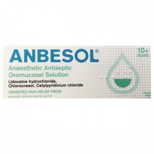 Anbesol Anaesthetic Antiseptic