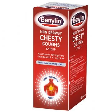BENYLIN CHILDRENS CHESTY COUGH SYRUP 125ml