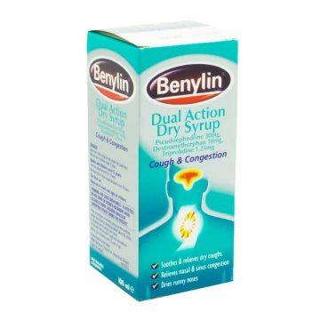 BENYLIN DUAL ACTION DRY SYRUP 100ml