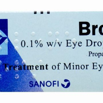 BROLENE 0.1% EYE DROPS SOLN 10ml