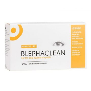 Blephaclean Eye Wipes 20pc