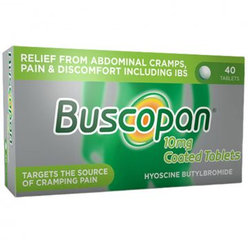 Buscopan 10mg Coated Tablets 40pc
