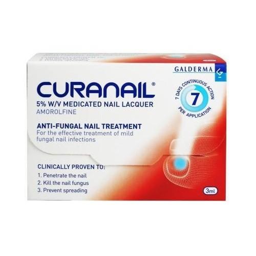 CURANAIL 5% MEDICATED NAIL LACQUER 2.5ml
