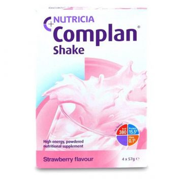 COMPLAN SHAKE STRAWBERRY 4X57G