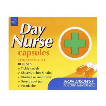 DAY NURSE 20 Capsules