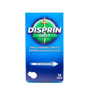 DISPRIN DIRECT 300MG CHEWABLE 24 TABS