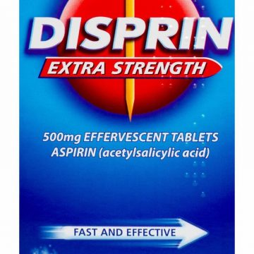 DISPRIN EXTRA STRENGTH 500MG EFF 16 TABS