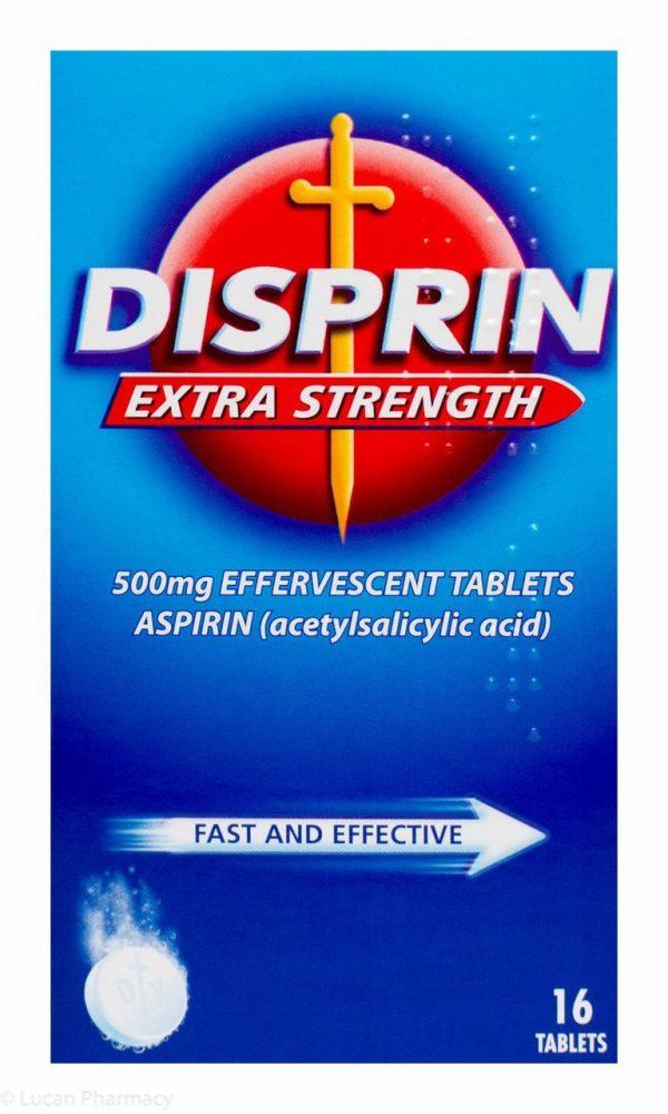 DISPRIN EXTRA STRENGTH 500MG EFF 16 TABS