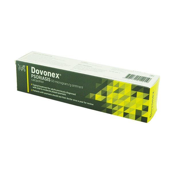 DOVONEX PSORIASIS 50MCG/G OINTMENT 60g