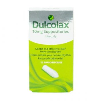 DULCOLAX 10MG 12 SUPPOSITORIES