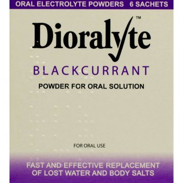 Dioralyte Blackcurrant Powder For Oral Solution 6 Sachets