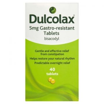 Dulcolax 5mg 40 Gastro-resistant Tablets