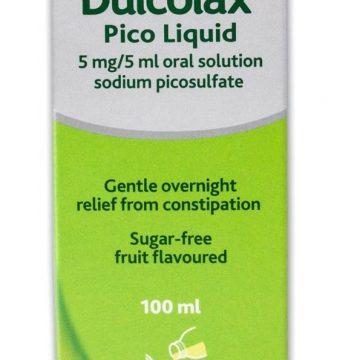 Dulcolax Pico Liquid 5MG/5ML Oral solution 100ml