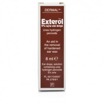 Exterol 5% Ear Drops Solution 8ml