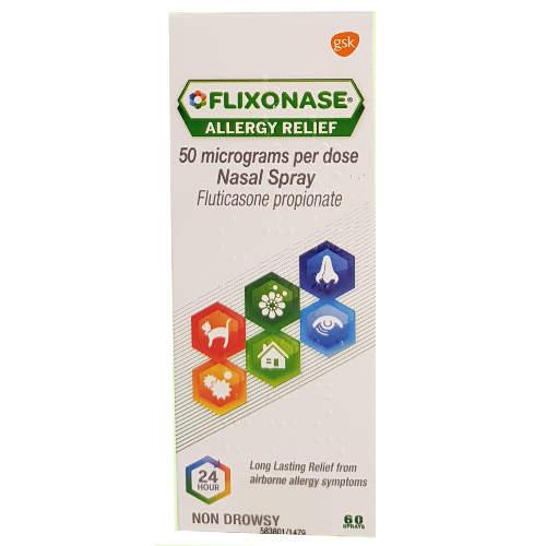 Flixonase Allergy Relief 50mcg Nasal Spray 60 Doses
