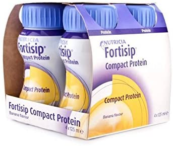 Fortisip Compact Banana 125ml 1 Bottle