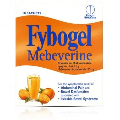 Fybogel Mebeverine Granules For Oral Suspension 10 Sachets