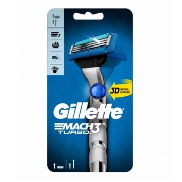 GILLETTE MACH 3 TURBO 1 UP RAZOR