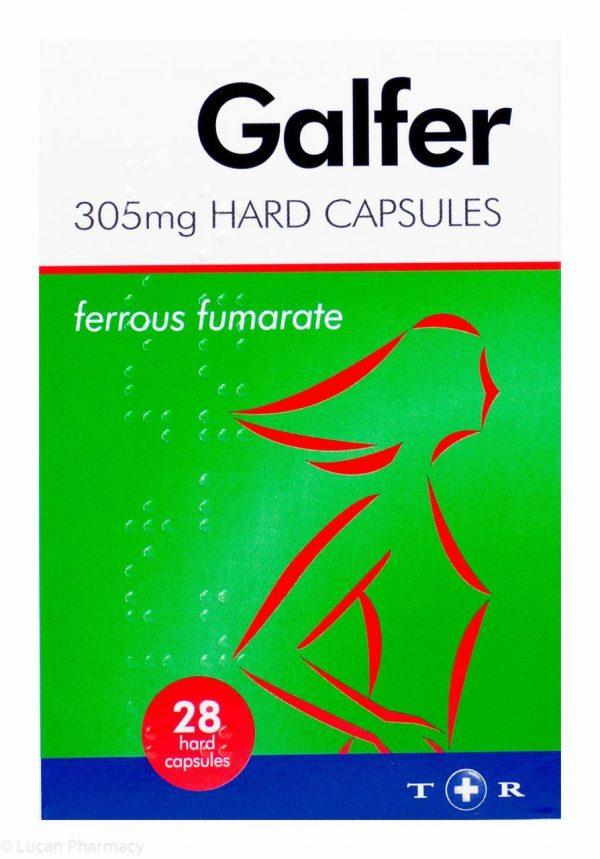 Galfer 305mg 28 Hard Capsules