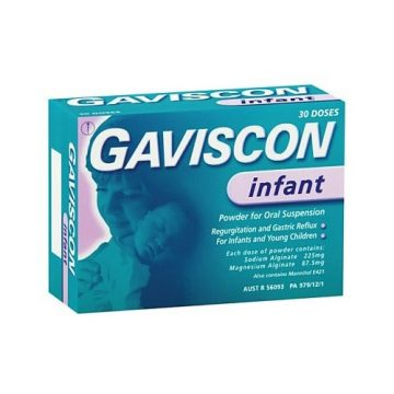 Gaviscon Infant Powder For Oral Suspension 30 Sachets