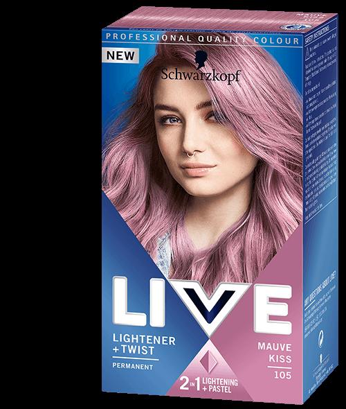Live Lightener + Twist Mauve Kiss