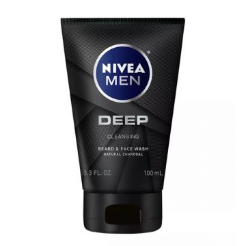 NIVEA MEN DEEP CL BLK CHARCOAL FACE