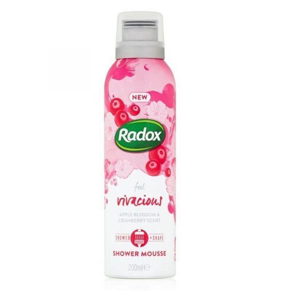 Radox Shower Mousse Vivacious