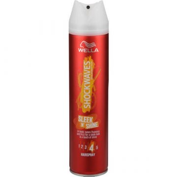 SHOCKWAVES SLEEK N SHINE HAIRSPRAY