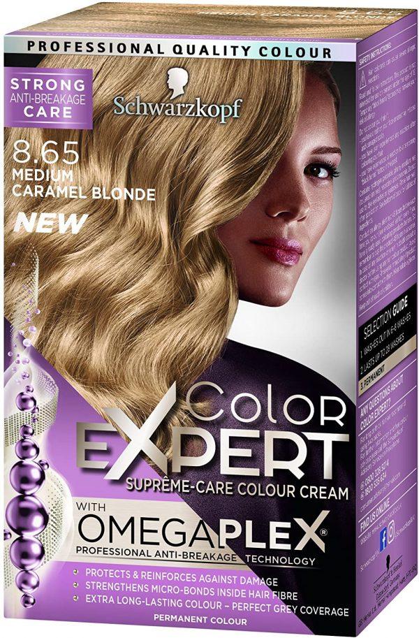 Schwarzkopf Expert Color 8.65 Medium Carmel Blonde