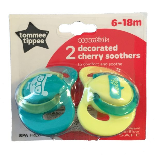 Tommee Tippee Cherry Soother 6-18 Months
