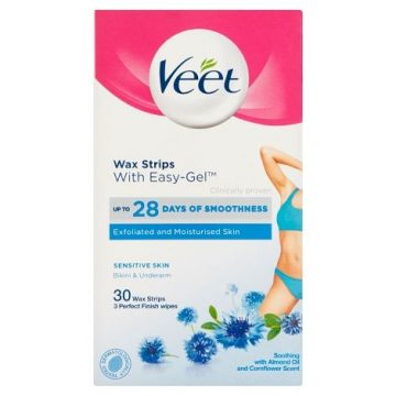 Veet Underarm And Bikini Line Wax Strips