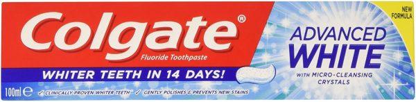 Colgate Advanced White Toothpaste, 100ml