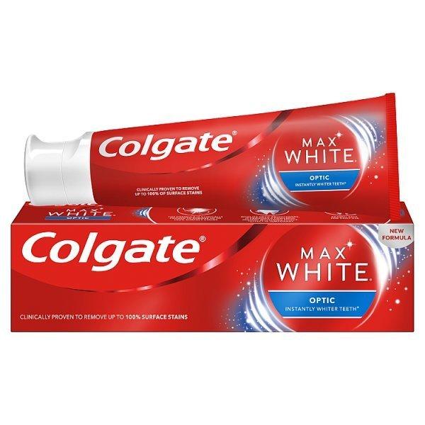 Colgate Max White Optic Whitening Toothpaste 75ml