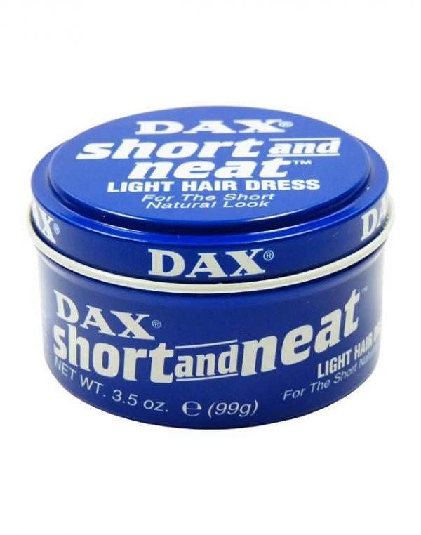 DAX WAX SHORT & NEAT BLUE 85G