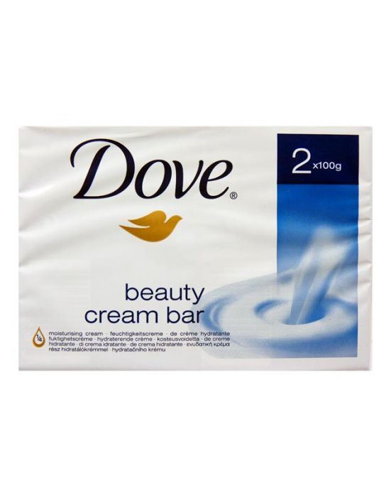 DOVE BAR SOAP REGULAR TWINPACK 2X100G