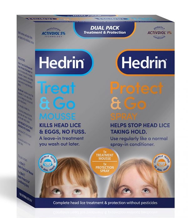 HEDRIN DUAL PACK