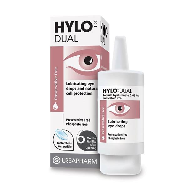 HYLO-DUAL PRES FREE EYE DROPS 7.5ml