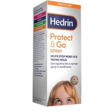 Hedrin Protect And Go Spray 200ml