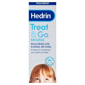 Hedrin Treat And Go Mousse 100ml