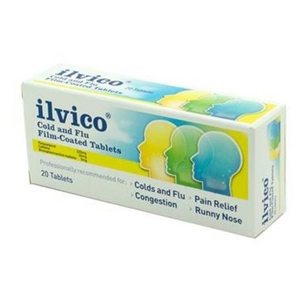 ILVICO COLD & FLU 20 FC TABS