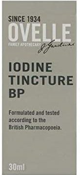 IODINE TINCTURE CUTANEOUS SOLUTION 30ml