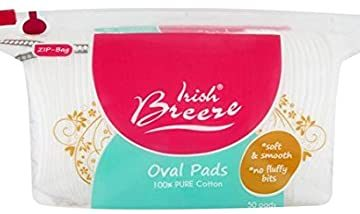 Irish Breeze Cosmetic Oval Pads 50 Pack