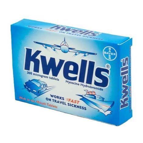 KWELLS 300MCG 12 Tablets