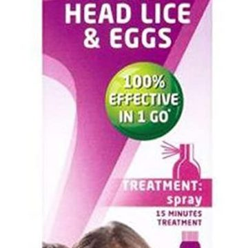 Lyclear Treatment Spray and Comb 100ml