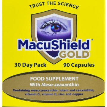 Macushield Gold 90 Capsules