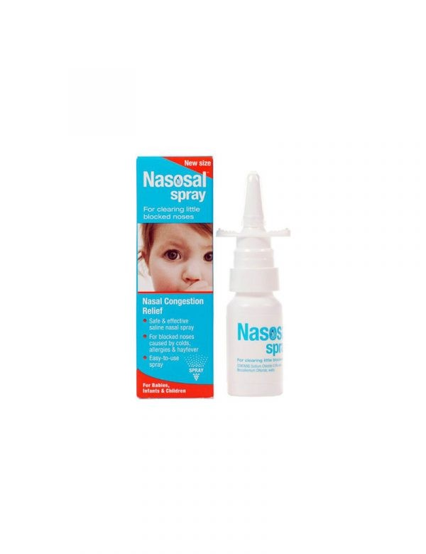 NASOSAL SALINE NASAL SPRAY NORMAL 30ml