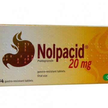NOLPACID 20MG GAST RES TABS PANTOPRAZOLE 14 Tablets