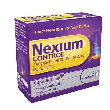 Nexium Control 20mg Gastro Resistant 14 Hard Capsules